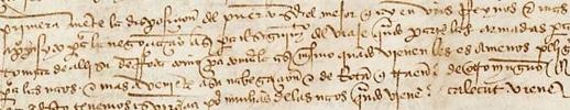 1. Juan Sebastián Elcano, manuscrito, Archivo General de Indias, adquisición Estado julio 2014