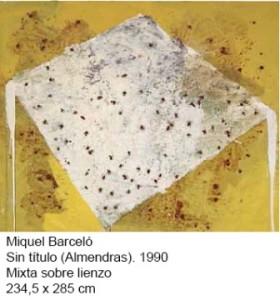 BARCELÓ,Colección Soledad Lorenzo depósito Museo Reina Sofía