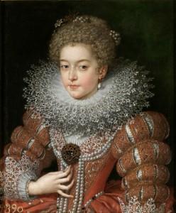Isabel de Francia. Pourbus, Museo del Prado