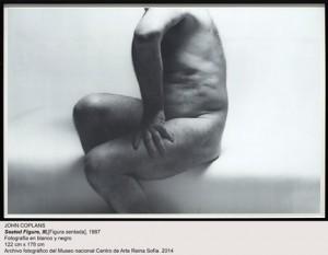JOHN COPLANS-Figura sentada. Donación y depósito Museo Reina Sofía