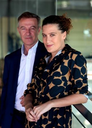 José Guirao y Lucía Casani