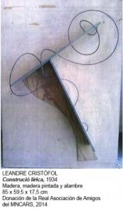 LEANDRE CRISTOFOL. Donación Museo Reina Sofía