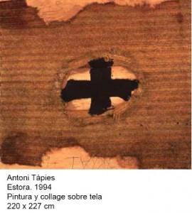 TÀPIES, Colección Soledad Lorenzo depósito Museo Reina Sofía