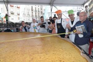 Tortilla récord