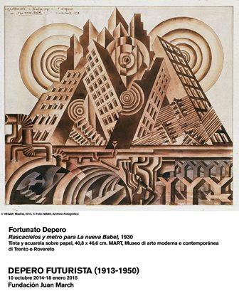Rascacielos y metro para La nueva Babel 1930
