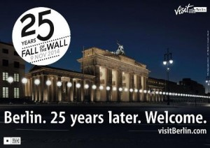 Berlin Commemorates the 25th Anniversary of the Fall of the Berl