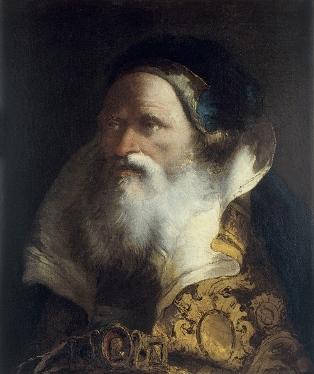 Tiepolo - Retrato de anciano barbado