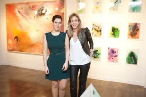 Cristina Gamón y María Porto,  El Espacio de las Artes de El Corte Inglés, 1