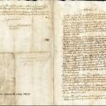 Exposición Primus circumdedisti me. La carta de Juan Sebastián Elcano. 1522 Archivo General de Indias