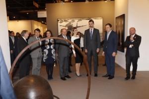 Reyes inauguran ARCO 2015 (2)