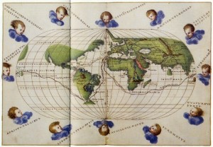 Ruta. Exposición Primus circumdedisti me. La carta de Juan Sebastián Elcano. 1522 Archivo General de Indias