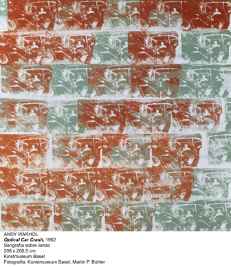208 x 208.5 cm ; Siebdruckfarbe auf Leinwand; Inv. G 1970.4