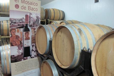 Mosaico de Baco 1 LOGOPRESS