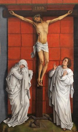 El Calvario, Rogier van der Weyden, Monasterio El Escorial