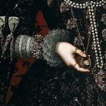 Juan Pantoja de la Cruz Detalle del retrato de Isabel Clara Eugenia. Museo Nacional del Prado, Madrid