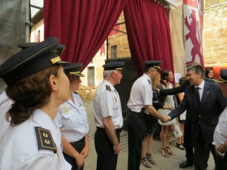Policía Patrimonio Nacional curso falsificacion