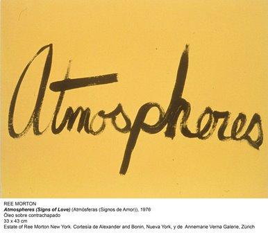 Ree Morton-Atmosphere, Museo Reina Sofía