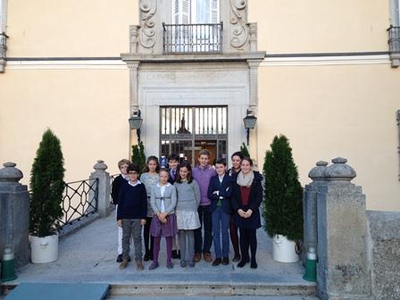 Entrada Palacio Real del Pardo- Niños Recuerdo 27,octubre,2015
