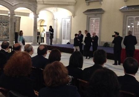 Entrega de Premio al Alumno Manuel Aurelio de Hermenegildo sordo 27-10-2015
