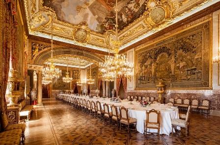 Palacio Real de Madrid, comedor real