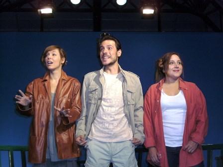 Teatro del Ferrocarril, Lara de Miguel, Carmen Oveja y Raúl Peñalba