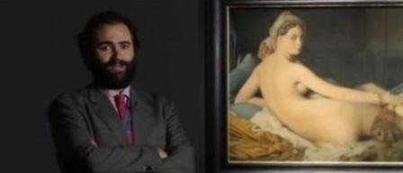 Carlos G Navarro, Museo del Prado, Odalisca, Ingres