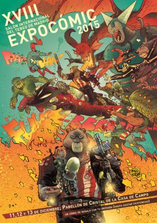 Cartel Expocómic 2015