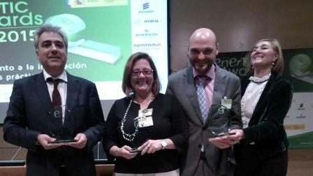 Fundación Santa María la Real y Telefónica, Premio Enertic 2015, Smart Patrimonio