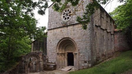 FundaciOn Santa MarIa La Real, santa cristina ribas sil ourense romanico