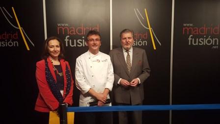 Artistas de la cocina como Joan Roca, José Andrés y Andoni Aduriz en Madrid Fusión