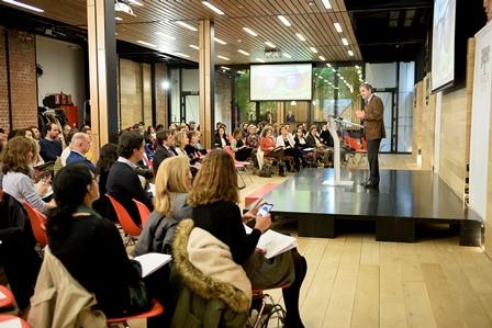 Director General Fundacion Botin presentando VII edicion Talento Solidario