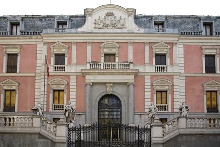 Exterior Salón de Reinos. Foto Museo Nacional del Prado