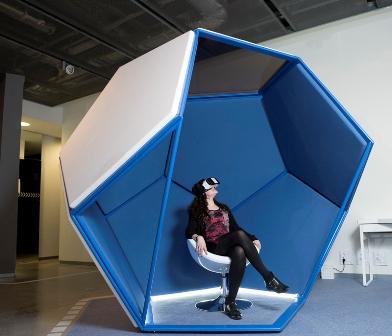Espacio VR low Espacio Virtual Fundación Telefónica