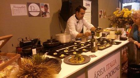 Shoowcooking en el Área Italia en el Salón Gourmets 2015