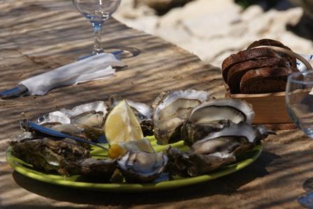 Assiette d'Huîtres
