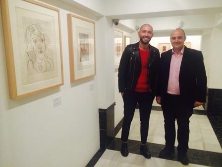 Jaime de los Santos expo buitrago