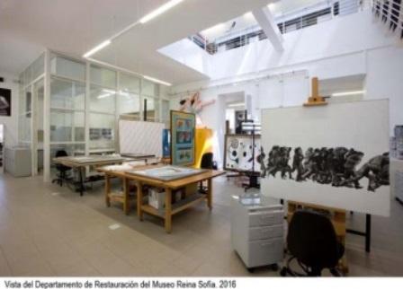 Museo Reina Sofía, Día Internacional de los Museos, restauración