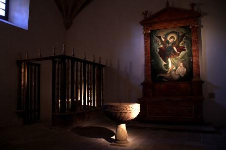 interior Monasterio de Yuso, Fundación Santa María La Real del Patrimonio Histórico