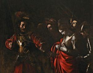 Caravaggio Santa Ursula