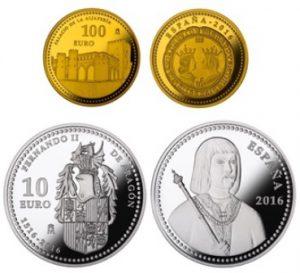 FNMT Monedas Fernando II de Aragón