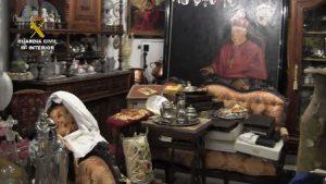 Guardia Civil recupera 10.000 piezas de arte en Bullas, Murcia 2