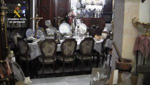 Guardia Civil recupera 10.000 piezas de arte en Bullas, Murcia 5