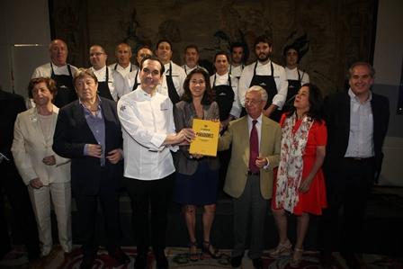 Presentación del libro El sabor de Paradores, tradición y renovación