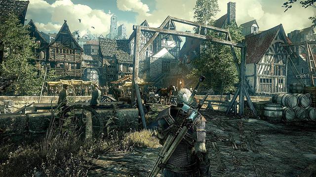 Arte conceptual de un videojuego
