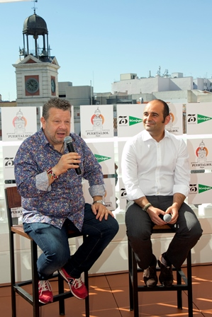 El chef Alberto Chicote y Guillermo Arcenegui, Responsable de Restauración de El Corte Inglés