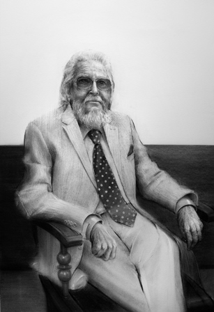Fernando del Paso, por Xabier Gaztelumendi. BNE.