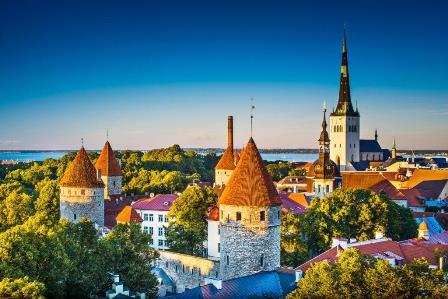 Mapa Tous_Tallin_Estonia