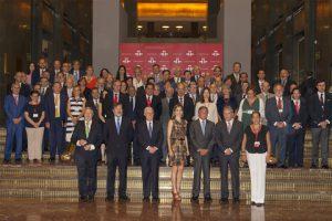 Reina Letizia con 70 Directivos Instituto Cervantes