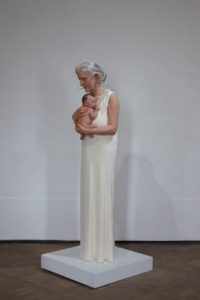 SAM JINKS Woman and Child, Museo de Bellas Artes de Bilbao