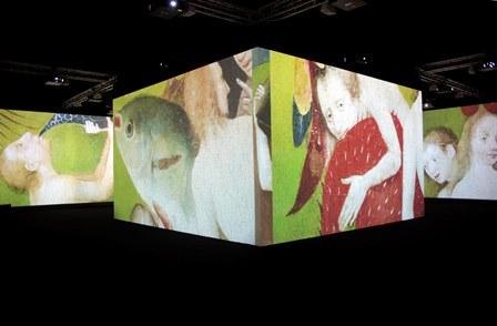 Videoinstalación El Bosco Museo del Prado 3